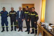 Θέρμο: επί τάπητος η αντιπυρική προστασία στη συνάντηση Κωνσταντάρα με τη διοίκηση της Πυροσβεστικής