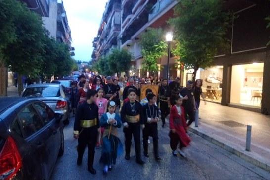 Aγρίνιο: συγκίνηση στην  Πορεία Μνήμης  για τα θύματα της Γενοκτονίας των Ποντίων (φωτό)