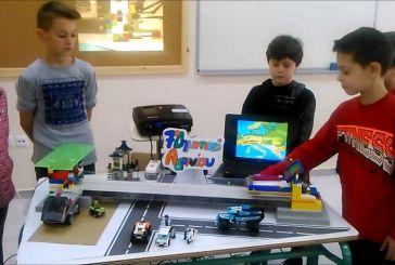Ευχαριστίες του 7ου Δημοτικού Σχολείου Αγρινίου  στον Παναιτωλικό για τη δωρεά ρομποτικού εξοπλισμού