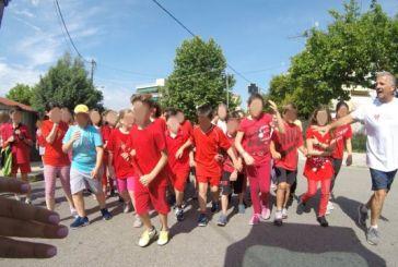2η Σκυταλοδρομία Δημοτικών Σχολείων στον Άγιο Κωνσταντίνο Αγρινίου