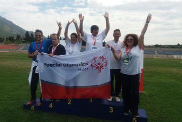 """Διακρίσεις αθλητών του Εργαστηρίου «Παναγία Ελεούσα"""" σε αγώνες Special Olympics στο Λουτράκι"""