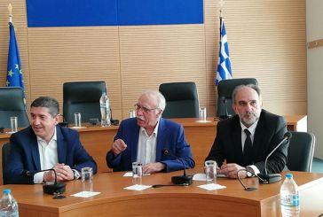 Σύσκεψη για το μεταναστευτικό στην Περιφέρεια παρουσία του υπουργού Δ. Βίτσα