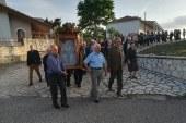 Εικόνες από τη Λιτάνευση Ιερής εικόνας Αγίου Νικολάου στην Παπαδάτου Ξηρομέρου