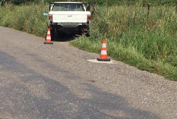 Αγρίνιο: Τραυματισμός οδηγού σε εκτροπή αγροτικού