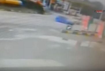 Βίντεο-σοκ από σοβαρό τροχαίο στην Καρδίτσα
