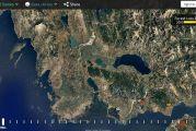 Ο χάρτης των καμένων δασών της Αιτωλοακαρνανίας