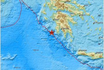"""Ισχυρή σεισμική δόνηση αναστάτωσε με το """"καλημέρα"""" τη Δυτική Ελλάδα"""