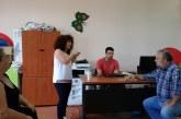 Kλιμάκιο του ΚΚΕ στο Ειδικό Σχολείο Βόνιτσας