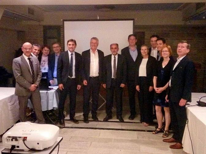 """2018.05.30 @ Επίσκεψη αξιολόγησης από την επιτροπή του βραβείου """"Ευρωπαϊκή Επιχειρηματική Περιφέρεια"""" - Καταληκτήρια συνάντηση στο Ξενοδοχείο ΒΥΖΑΝΤΙΝΟ / Evaluation mission of the """"European Entrepreneurial Region (EER)"""" jury - Closing meeting at BYZANTINO Hotel"""