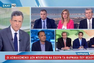 """Θ. Παπαθανάσης: «Τιμωρία στους φαρμακοποιούς που δίνουν το φάρμακο που θέλει ο ασθενής"""" (video)"""