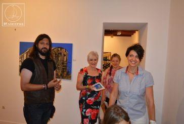 Εγκαινιάστηκε στην Αμφιλοχία η έκθεση ζωγραφικής της Μπαρμπαρέλας Σφήκα, «Ιστορίες»