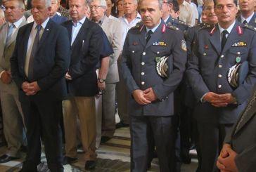 Ο εορτασμός της ημέρας των αποστράτων της Αστυνομίας στη Δυτική Ελλάδα
