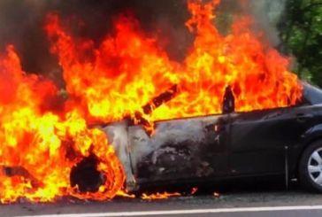 Λαμπάδιασε κλεμμένο αυτοκίνητο στο Μεσολόγγι (φωτο)