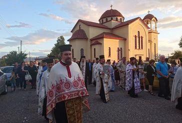 Ιερά Πανήγυρις Αγίου Αποστόλου Παύλου στη Μεγάλη Χώρα Αγρινίου (φωτο)