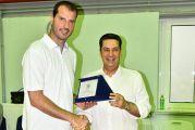 Πρωταθλητής ο Δήμος Αγρινίου στο Εργασιακό Τουρνουά Μπάσκετ – Τιμήθηκε ο Μ. Κακιούζης (φωτο)