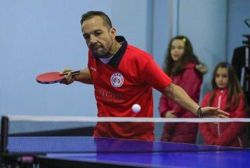 Σε αγωνιστική δράση ο Αγρινιώτης Αιμοκαθαιρόμενος αθλητής του πινγκ-πονγκ , bowling και στίβου Μάριος Μαρκόπουλος