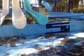 Ναύπακτος: Θλιβερή η εικόνα στις νεροτσουλήθρες…