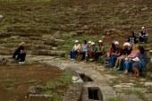 Νέοι του «Παναγία Ελεούσα» περιηγήθηκαν στο αρχαίο Θέατρο Στράτου