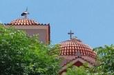 Τα πελαργάκια της εκκλησίας στα Καλύβια (φωτο)