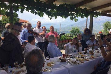Eικόνες από την παρουσία του Ευρωπαίου Επιτρόπου Χρήστου Στυλιανίδη στον ορεινό Βάλτο
