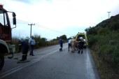 Άγιο είχε η 25χρονη οδηγός οχήματος που εξετράπη στο δρόμο Βόνιτσας- Λευκάδας