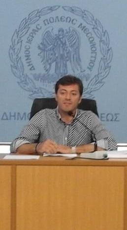 Νέος πρόεδρος του Δημοτικού Συμβουλίου Μεσολογγίου ο Δημήτρης Μπαλαμπάνης