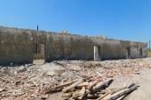 Εργασίες ανακατασκευής στο κτήριο των Δημοτικών Αλυκών Τουρλίδας