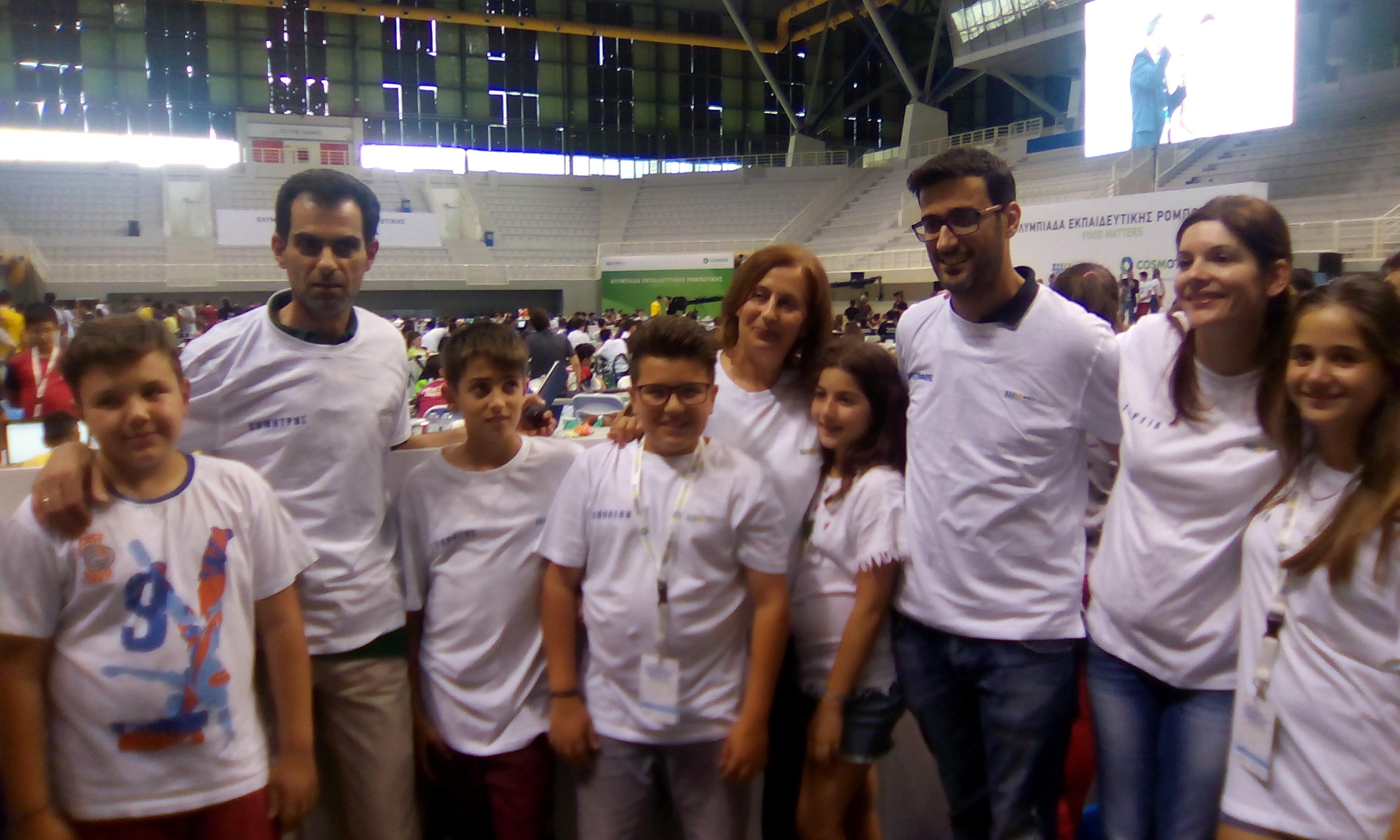 3η θέση για το 17ο Δημοτικό Σχολείο Αγρινίου στον Εθνικό Διαγωνισμό Εκπαιδευτικής Ρομποτικής