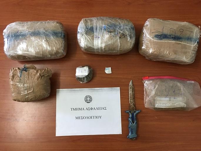 18-7-2018 Συνελήφθη 42χρονος στο Μεσολόγγι για κατοχή και διακίνηση ναρκωτικών (1)