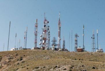 Το κέντρο ραδιοτηλεοπτικών εκπομπών του ΟΤΕ στα Ακαρνανικά Όρη