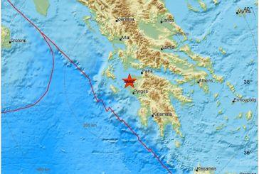 """Σεισμός """"κούνησε"""" τη Δυτική Ελλάδα"""