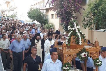 Η Εορτή του Αγίου Βλασίου του Ακαρνάνος στον τόπο του μαρτυρίου του