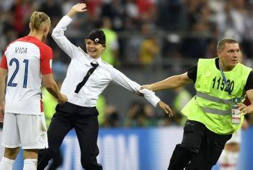 Μουσικό συγκρότημα ανέλαβε την ευθύνη για το «ντου» στον τελικό του Παγκοσμίου Κυπέλλου