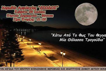 """Μουσική βραδιά «κάτω απ' το φως του φεγγαριού"""" στη Βόνιτσα"""