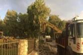 Αλσύλλιο Ναυπάκτου: Η μάντρα «έπεσε» – Ξεκινούν τα έργα ανάπλασης (φωτο)