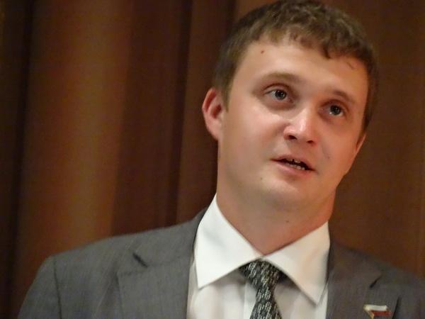 Θοδωρής Καλάϊντοφ. Εκπρόσωπος της Ρωσικής πρεσβείας στην Ελλάδας. ο οποίος θα ανοίξει την 12η Πανελλήνια Αστροεξόρμηση στο Δρυμώνα Θέρμου