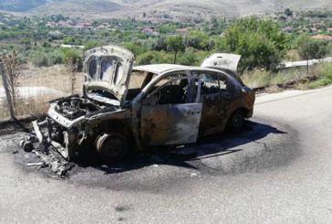 Κάηκε ολοσχερώς όχημα στο Αρχοντοχώρι