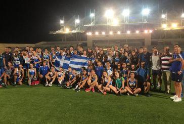 Στίβος: Χρυσά μετάλλια στην Κύπρο για δύο Αγρινιώτες αθλητές της ΓΕΑ