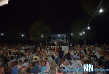 Πλήθος κόσμου στην 1η γιορτή προβατίνας στο Τρίκορφο Ναυπακτίας (video)