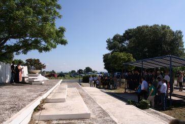 74η Επέτειος Μνήμης των 59 εκτελεσθέντων στα Καλύβια Αγρινίου (φωτο)