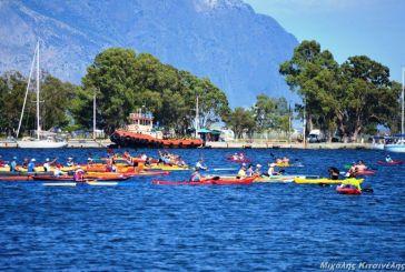 Αυλαία για τον 4ο Κωπηλατικό Διάπλου της Λιμνοθάλασσας Μεσολογγίου – Αιτωλικού (φωτο)