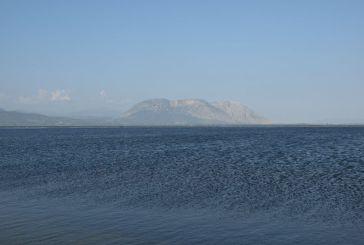 Η λιμνοθάλασσα του Μεσολογγίου χθες