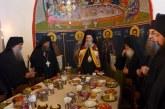 Ο Μητροπολίτης Ναυπάκτου Ιερόθεος στην πανήγυρη της Ι.Μ. Καρακάλλου Αγίου Όρους