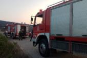 Φωτιά απείλησε τον καταυλισμό των Ρομά στην είσοδο του Αιτωλικού