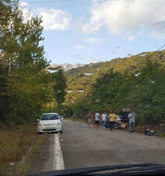 Εκτροπή οχήματος κοντά στο Χαλκιόπουλο