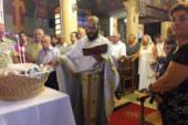 Παρουσία πολλών πιστών γιορτάστηκε η Κοίμηση της Θεοτόκου στα Παλιάμπελα