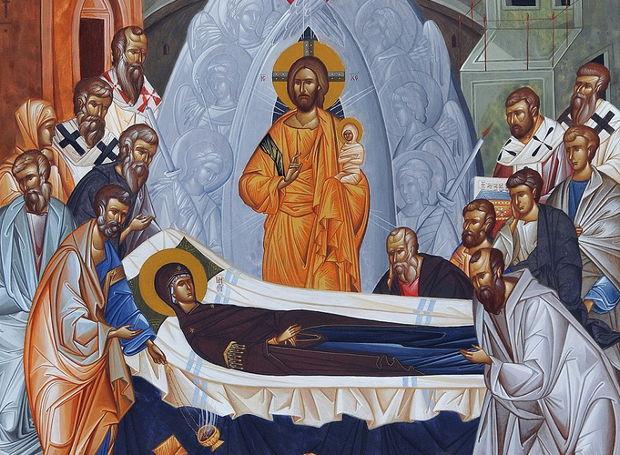 Ιεροί Ναοί της Μακρυνείας που εορτάζουν την Κοίμηση της Θεοτόκου
