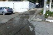 Αετός Ξηρομέρου: Έσπασε αγωγός ύδρευσης (video)