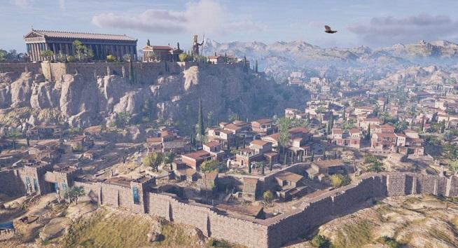 Έτσι «έχτισαν» την Αθήνα του 431 π.Χ. στο «Assassin's Creed: Odyssey» (vids)