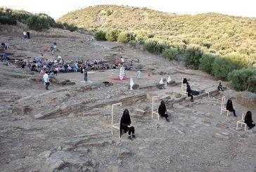 Συνεχίζεται στα αρχαία θέατρα της Αιτωλοακαρνανίας η διαδρομή της παράστασης «το Σπίτι της Μπερνάρντα Άλμπα»
